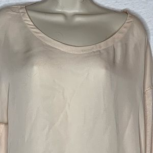 Vince Sweater top LARGE Light weight Long Sleeve